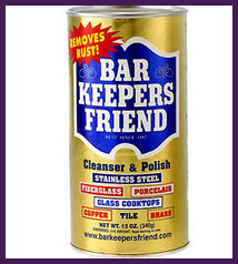 Uses For Bar Keepers Friend